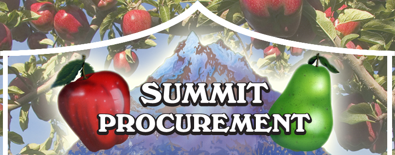 summit procurement - fruit and vegetable procurement from Washington State